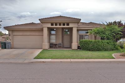 St George  Single Family Home For Sale: 110 S 2490 E