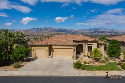 St George Single Family Home For Sale: 2259 N Cascade Canyon Dr