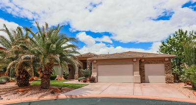 St George Single Family Home For Sale: 1722 N Sage Cir