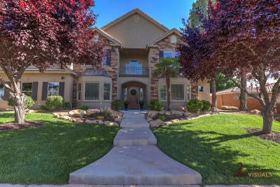 St George  Single Family Home For Sale: 1736 Flagstone Dr