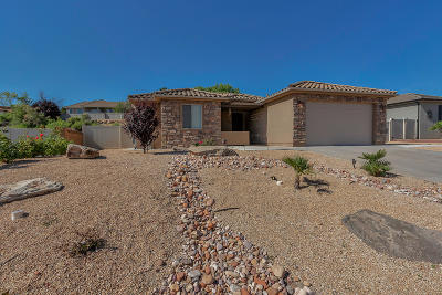 St George  Single Family Home For Sale: 1717 W 680 S