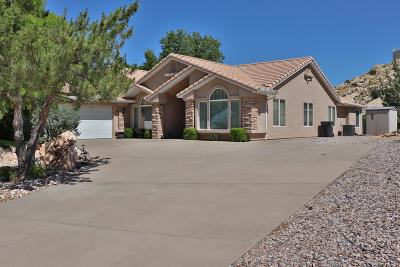 St George Single Family Home For Sale: 1642 W 5745 N