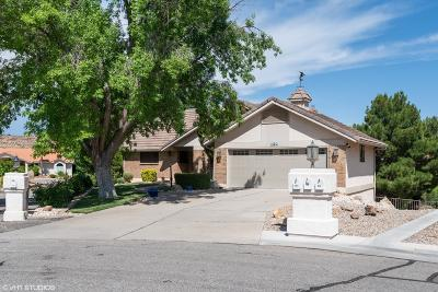 St George Single Family Home For Sale: 1180 E Sherman Circle