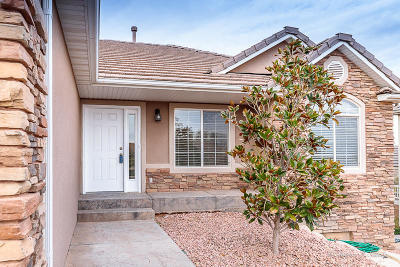 St George  Single Family Home For Sale: 3560 S Price Hills Dr