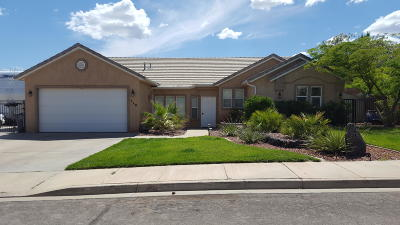Ivins Single Family Home For Sale: 518 Cordero Dr