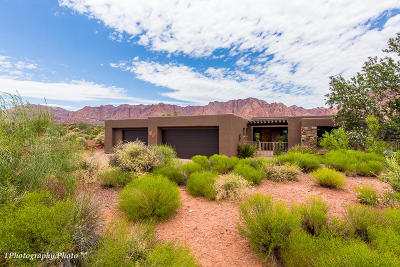 Ivins Single Family Home For Sale: 1150 Coyote Gulch Cir