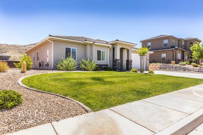 St George  Single Family Home For Sale: 3604 E Rimrunner Dr