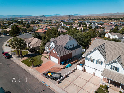 St George Single Family Home For Sale: 1837 N Centennial Dr