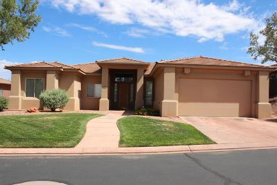 St George  Single Family Home For Sale: 1120 W Roadrunner Dr