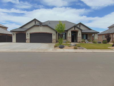St George Single Family Home For Sale: 2175 E 3480 S
