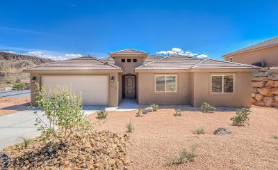 Hurricane  Single Family Home For Sale: 336 E 860 N