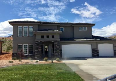 St George  Single Family Home For Sale: 3586 E Antares Ln