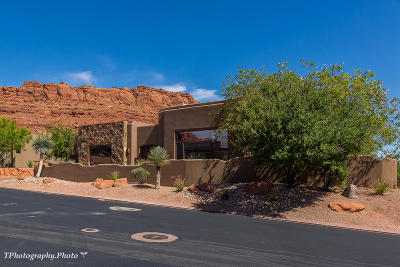 St George Single Family Home For Sale: 3052 N Snow Canyon Parkway #66