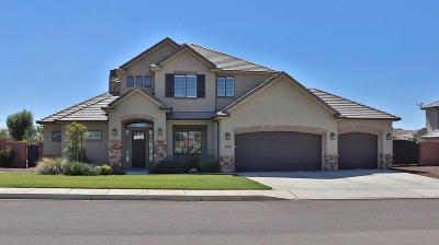 St George Single Family Home For Sale: 2640 S 3160 E