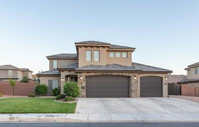 St George Single Family Home For Sale: 2918 Amaranth Dr