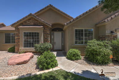 St George  Single Family Home For Sale: 1075 S 550