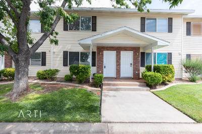 Ivins Condo/Townhouse For Sale: 135 E 570 S