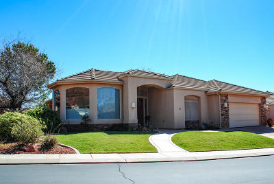 Ivins Single Family Home For Sale: 140 N Tuacahn Dr #65