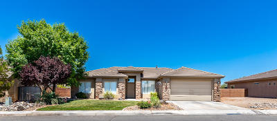 Washington  Single Family Home For Sale: 86 W 1965 S
