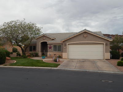 St George Single Family Home For Sale: 1630 E 2450 S #265