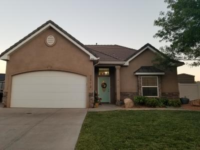 St George Single Family Home For Sale: 2512 E 40 N