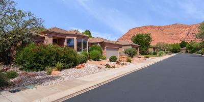 Ivins Single Family Home For Sale: 140 N Tuacahn #8