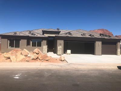 Ivins Single Family Home For Sale: 530 W Cougar Way #CR Lot 5