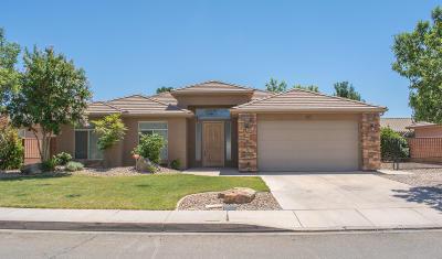 Washington Single Family Home For Sale: 317 W 2400 S