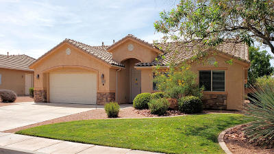 St George Single Family Home For Sale: 2151 W 1800 N