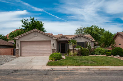 Ivins Single Family Home For Sale: 641 E 490 S