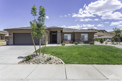 St George Single Family Home For Sale: 5985 S Rimrunner Dr
