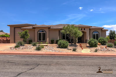 Ivins Single Family Home For Sale: 92 N Cortez Trail