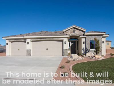 St George Single Family Home For Sale: Lot 19 3180 St S