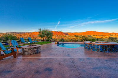 St George UT Single Family Home For Sale: $1,195,000