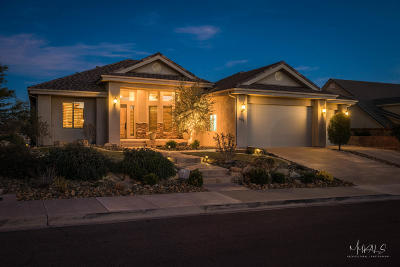 St George Single Family Home For Sale: 303 S 5 Sisters Dr