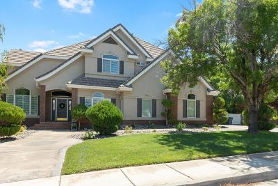 St George Single Family Home For Sale: 1652 Boulder Springs Rd