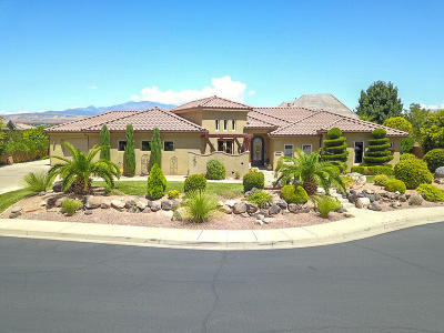 St George Single Family Home For Sale: 2435 Bella Rosa Cir