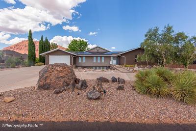 Ivins Single Family Home For Sale: 851 E Posado St