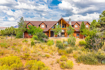 New Harmony UT Single Family Home For Sale: $850,000