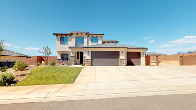 St George Single Family Home For Sale: 3035 Maple Mountain Dr