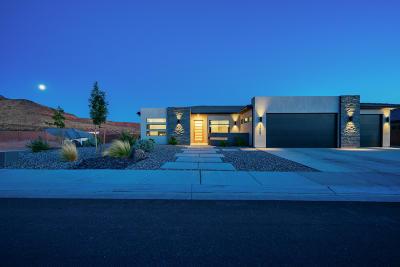 St George Single Family Home For Sale: 3446 E Blackbrush Dr