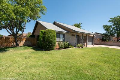 St George Single Family Home For Sale: 1640 W 1400 N