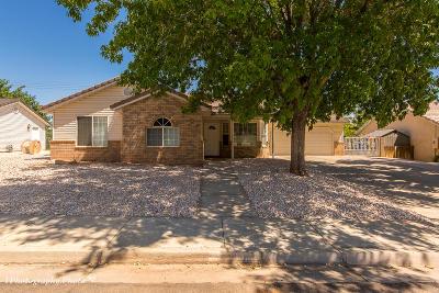 Washington Single Family Home For Sale: 496 N 800 E