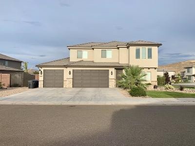 St George Single Family Home For Sale: 6087 S Zen Trail Way