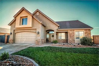 Washington Single Family Home For Sale: 137 W 1965 S
