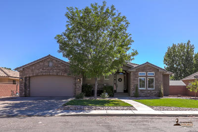 St George Single Family Home For Sale: 1065 S 620 E