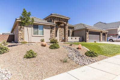 St George Single Family Home For Sale: 2805 E Auburn