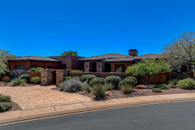 St George UT Single Family Home For Sale: $980,000