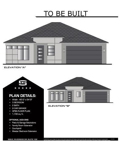 Washington Single Family Home For Sale: L0t 407 Jonathan Drive