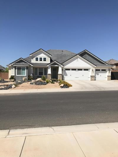 St George Single Family Home For Sale: 3143 E 3230 S